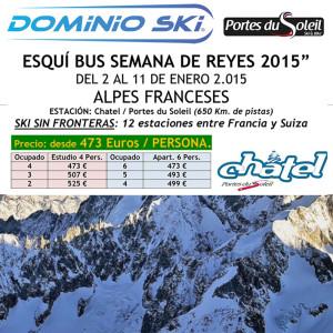 ALPES FRANCESES. SEMANA DE REYES. ENERO 2015