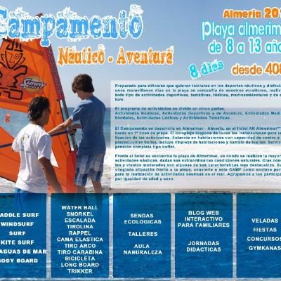 CAMPAMENTO NÁUTICO AVENTURA