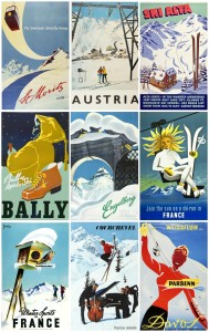 more-mid-century-ski-posters