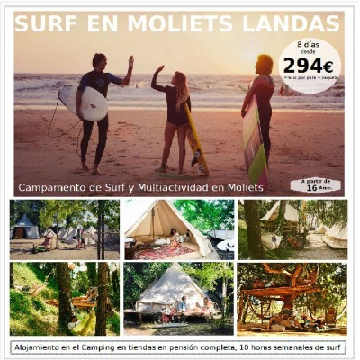 SURF EN MOLIETS LANDAS