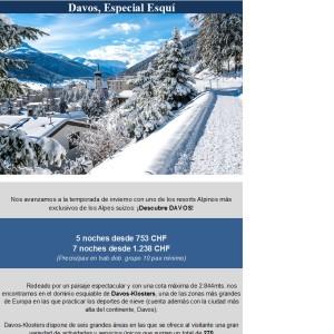 DAVOS ESPECIAL ESQUÍ
