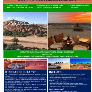 Ocio y Aventura 4×4 Zagora M Hamid Desierto Quarzazate Marruecos 2020