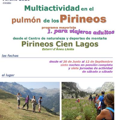 Multiaventura en el Pulmón de los Pirineos